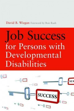 Job Success for Persons With Developmental Disabilities, book cover