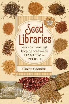 Bibliotecas de semillas, portada de libro