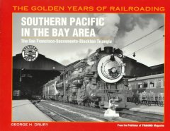 Southern Pacific in the Bay Area, book cover