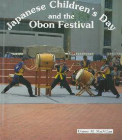 Japanese Children's Day and Obon Festival, book cover