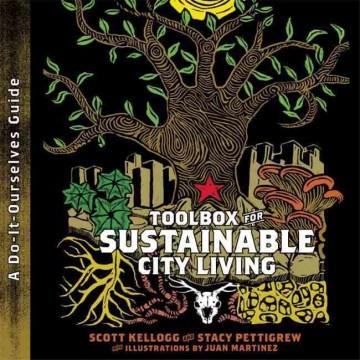 Caja de herramientas para una vida urbana sostenible (una guía para hacerlo nosotros mismos), portada del libro
