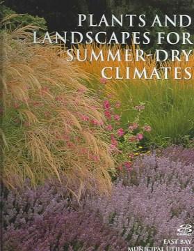 Plantas y paisajes para climas secos de verano de la región de la bahía de San Francisco, portada del libro