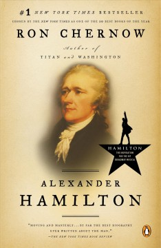 Alexander Hamilton by Ron Chernow, book cover