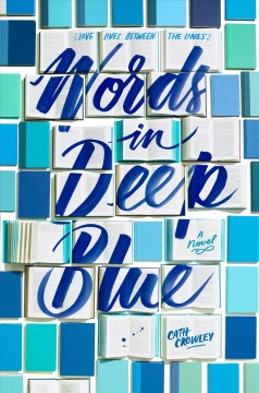 Words in Deep Blue, book cover