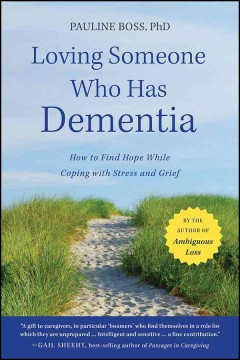 Amar a alguien que tiene demencia, portada del libro