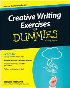Creative Writing Exercises for Dummies, book cover