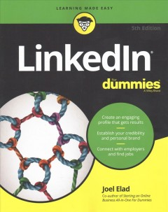 LinkedIn for Dummies, book cover