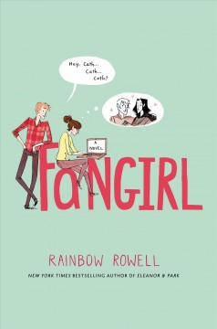 Book Cover Fangirl by Rainbow Rowell