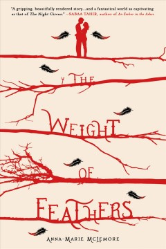 The Weight of Feathers, book cover