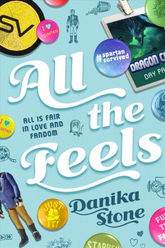 All the feels, book cover