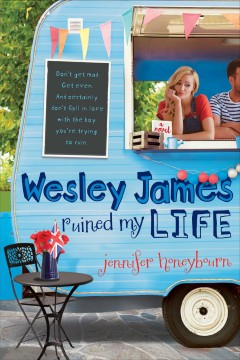 Wesley James Ruined My Life, book cover