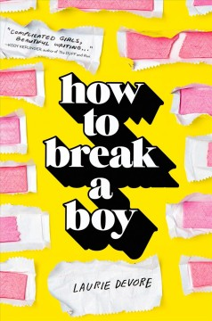 How to Break A Boy, book cover