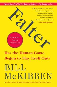 Falter – Bill McKibben