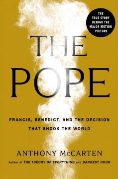 The Pope by Anthony McCarten, book cover