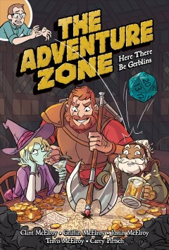 The Adventure Zone: Here There Be Gerblins, book cover