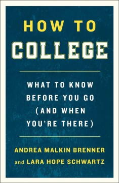 How to College, book cover