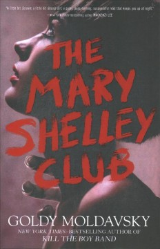 The Mary Shelley Club, book cover