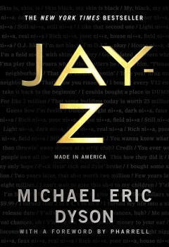 Jay-Z: Made in America, book cover