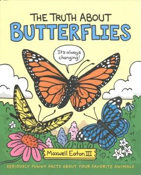 La verdad sobre las mariposas, portada del libro