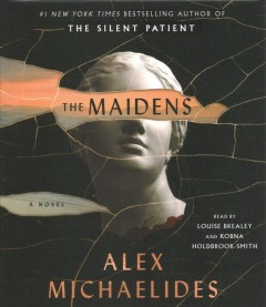 The maidens by Alex Michaelides.