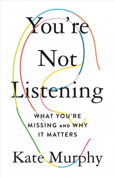 You're Not Listening, book cover