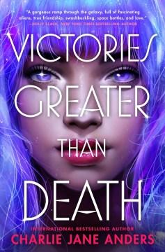 Victores mayor que la muerte, portada del libro