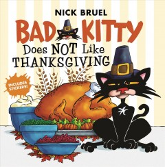 Bad Kitty Does Not Like Thanksgiving, book cover