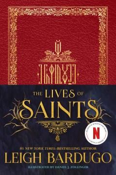 La vida de los santos, portada del libro