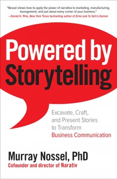Powered by Storytelling, book cover