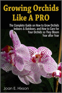 Cultivando orquídeas como un profesional, portada del libro