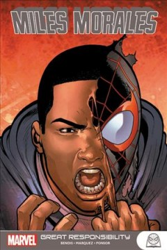 Miles Morales. by writer, Brian Michael Bendis.