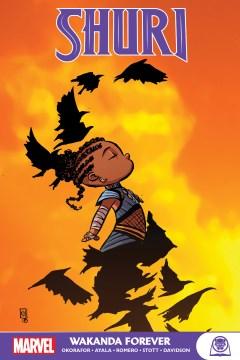 Shuri: Wakanda Forever, portada del libro