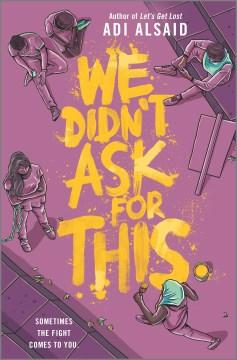 No pedimos esto, portada del libro