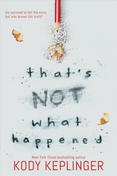 That's Not What Happened, book cover