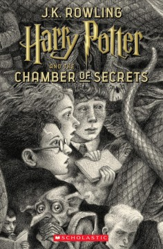 Harry Potter and the Chamber of Secrets, book cover
