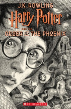 Harry Potter and the Order of the Phoenix, book cover