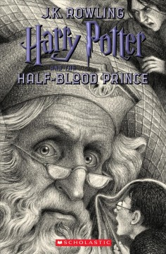 Harry Potter and the Half-Blood Prince, book cover
