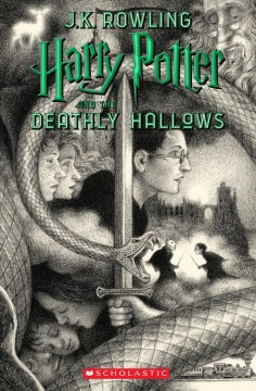Harry Potter and the Deathly Hallows, book cover