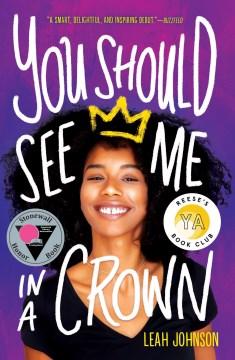 Deberías verme en una corona, portada del libro