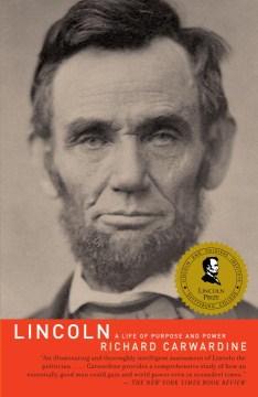 Lincoln: una vida de propósito y poder, portada del libro