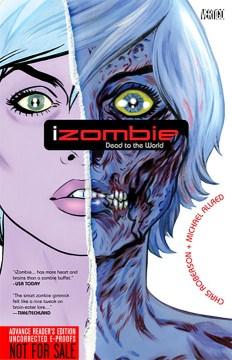Izombie, book cover