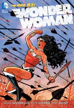 Wonder Woman Vol. 1, Blood , book cover