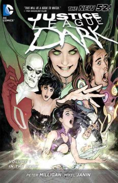 Justice League Dark, book cover
