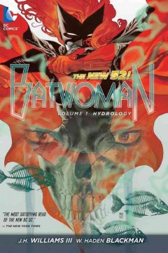 Batwoman Vol. 1, Hydrology , book cover