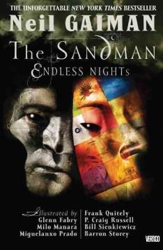 The Sandman: Endless Nights, book cover