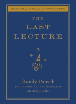 The Last Lecture, portada del libro