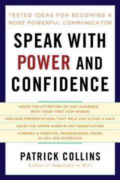 Speak with Power and Confidence, book cover