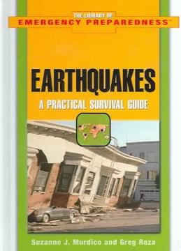Terremotos: APracGuía de supervivencia tical, portada del libro
