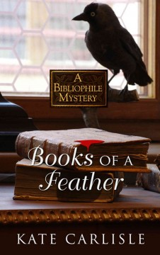 Books of a feather : a bibliophile mystery by Kate Carlisle