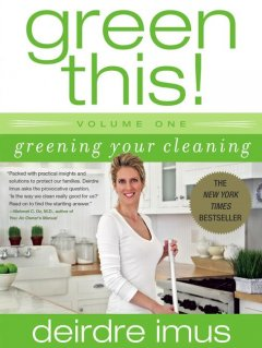 Greening Your Cleaning, book cover